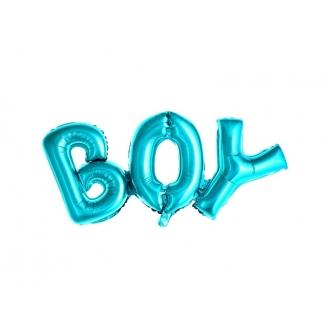 Balon foliowy Boy, 67x29cm, niebieski