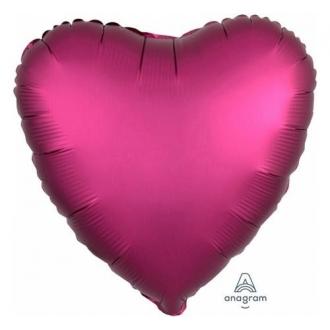 "Balon foliowy serce ""Pomegranate Heart"" S15"