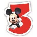 """Świeczka Disney """"Mickey 3"""""""