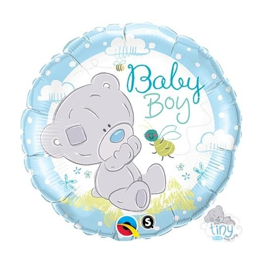"Balon foliowy 18"" QL CIR "" Tiny Tatty Teddy Baby Boy"""