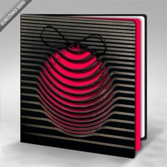 Kartka Świąteczna Różowa Bombka FS837ag