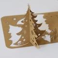 Kartka Świąteczna Choinka 3D FS469