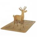 Kartka Świąteczna Renifer 3D FS477