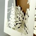 Kartka Świąteczna Zimowy Pejzaż FS752tz
