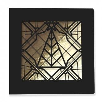 Kartka Świąteczna Geometryczna Choinka FS863k