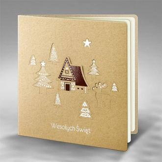 Kartka Świąteczna Eco Design 5 FS751