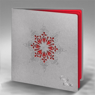 Kartka Świąteczna z Motywem Gwiazdy FS845s