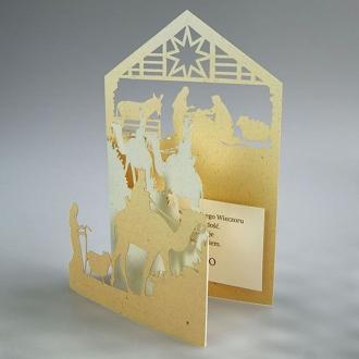 Kartka Świąteczna Motyw Religijny FS913