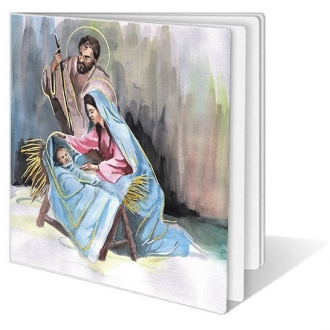 Kartka Świąteczna ze Świętą Rodziną FS203