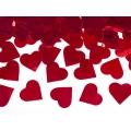 Tuba z sercami, czerwony, 80cm, 1szt.
