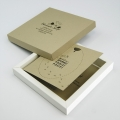 Kartka Świąteczna w Formie Pudełka z Nasionami Rzeżuchy W629