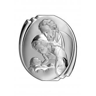 Obrazek Święta Rodzina 12,5x11 cm