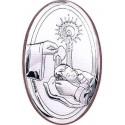 Obrazek na Chrzest 9,5x6 cm