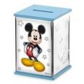 Skarbonka 8x8x11,5 cm niebieska Mickey