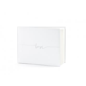 Księga Gości Love, 24x18,5cm, 22 kartki