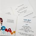 Zaproszenie na Komunie Dziewczynka ZK10
