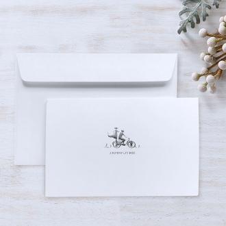 Zaproszenie Ślubne Ekologiczne z Motywem Kwiatowym F5555