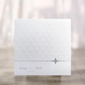 Zaproszenie w Kolorze Białym F1256