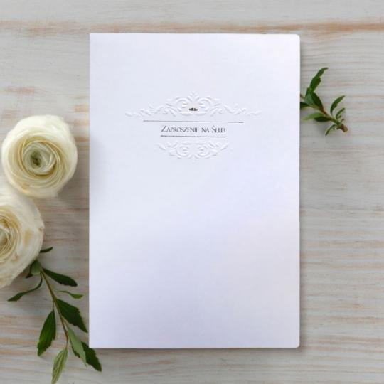 Zaproszenia Ślubne F1045tb