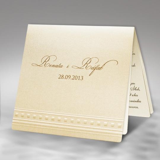 Zaproszenia Ślubne F1185tz1
