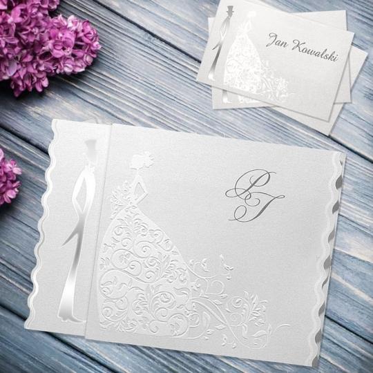 Zaproszenia Ślubne F1035tb