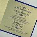 Zaproszenie ślubne z okienkiem f1430nm