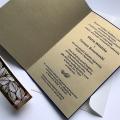 Zaproszenie ślubne z banderolą f1468