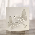 Zaproszenie ślubne z motylami f1485
