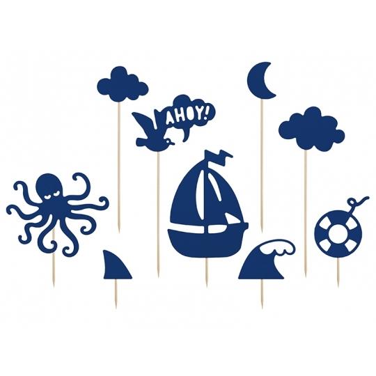 Toppery Ahoy, 9,5-22,5 cm (1 op. / 9 szt.)