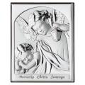 Obrazek Srebrny na Chrzest Święty 6x7,5 cm