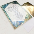 Zaproszenie ślubne f1501