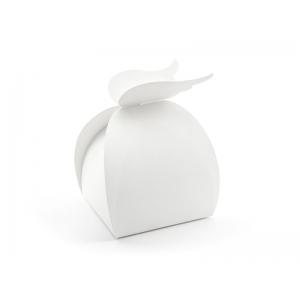 Pudełka - Skrzydła, biały, 8,5x14,5x8,5cm (1 op. / 10 szt.)
