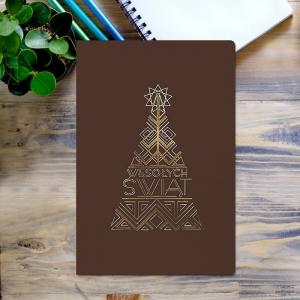 kartki świąteczne z logo firmy