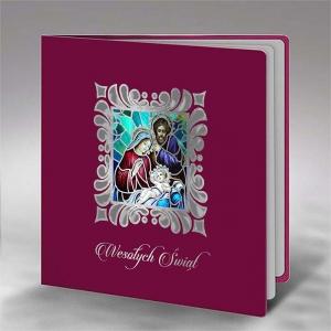 Kartka Świąteczna FS928bg