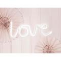 Neon LED - Love, biały, 34,5x13cm