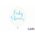 Balony 30cm, Baby Shower, Crystal Clear