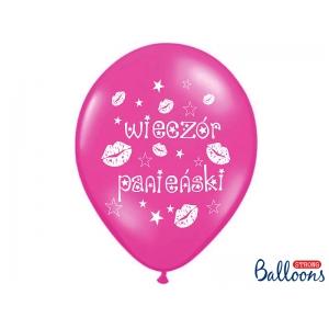 Balony 30cm Wieczór Panieński, M. Hot Pink