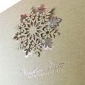 Eko Kartka Świąteczna z płatkiem sniegu  FS830ECO