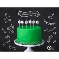 Świeczki urodzinowe Piłki, 2,5cm