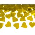 Tuba z sercami, złoty, 60cm