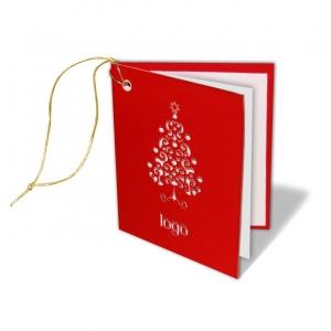 Zawieszka świąteczna na prezenty dla firmowe