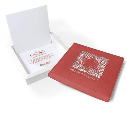 Kartka Świąteczna w formie pudełka FS984J
