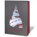 Kartka Świąteczna z motywem świątecznego transportu FS1011