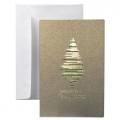 Kartka Świąteczna z choinką  FS976