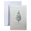 Kartka Świąteczna z choinką  FS973