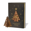 Kartka Świąteczna z choinką FS1018