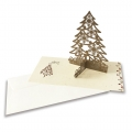Kartka Świąteczna z choinką HB1021