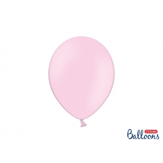 Balony Strong 27cm, Pastel Baby Pink, 100szt.