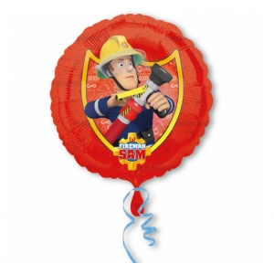 "Balon foliowy 18"" CIR - ""Fireman Sam"""