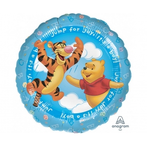 "Balon foliowy 18"" CIR - ""Pooh - It's a Boy"""